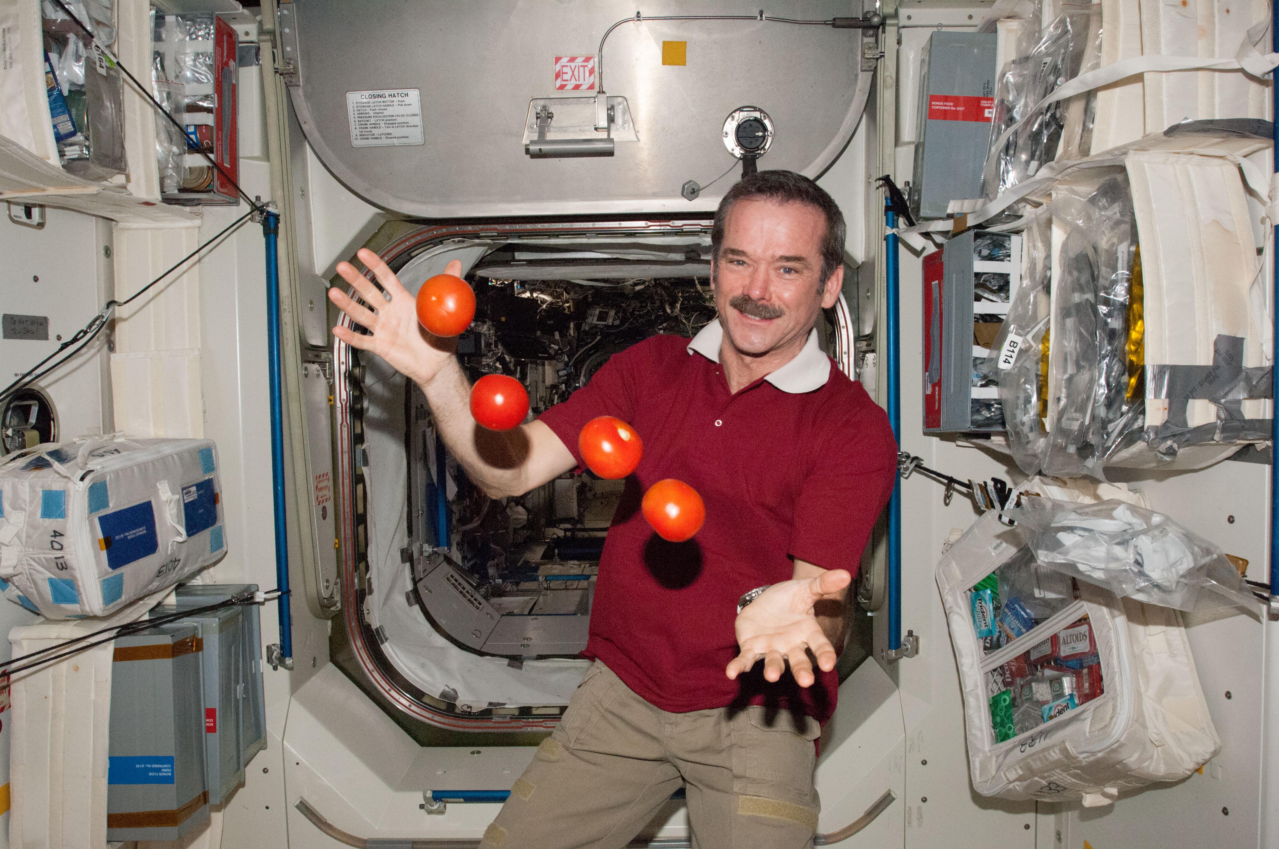 jedzenie na statku kosmicznym wynalazca