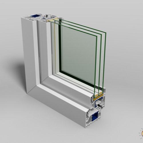 wizualizacja produktu okno wzor przemyslowy
