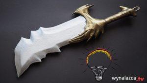 blades of chaos miecz kratosa na coplay wydrukowany w 3d