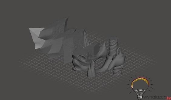Modele 3d miecza kratosa do druku 3d
