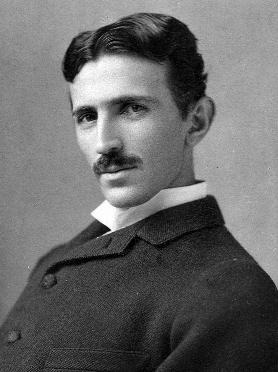 Nicola Tesla wynalzaca