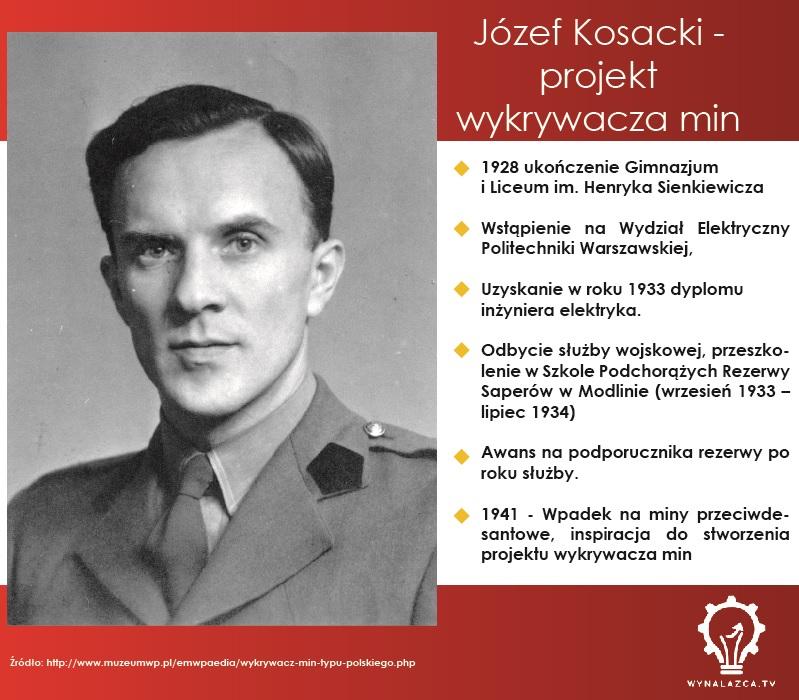 Wynalazca Jozef Kosacki