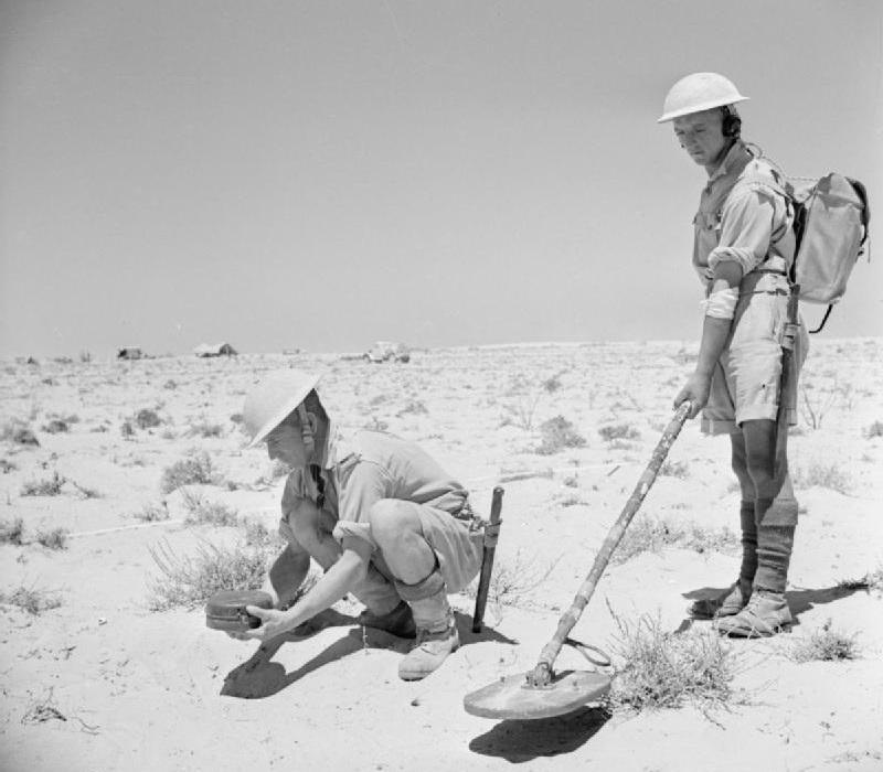 Wynalazek wykrywacza min