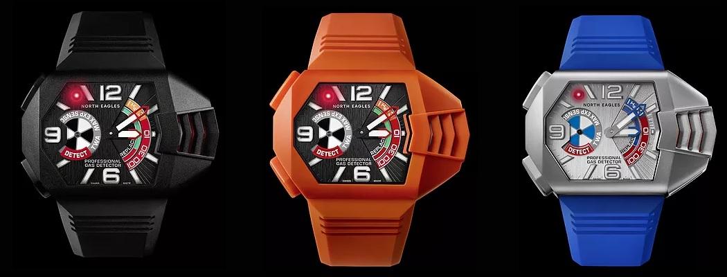 Warianty wynalazku zegarka