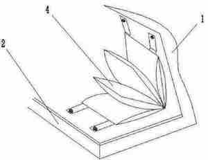 chinski wynalazek do zmiany pieluch CN204501361U