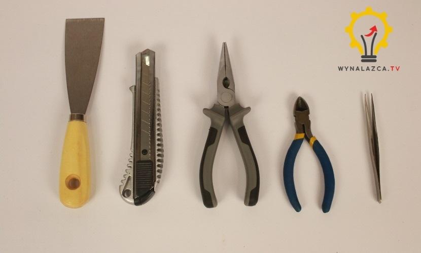 narzędzia do obróbki wydruku 3D