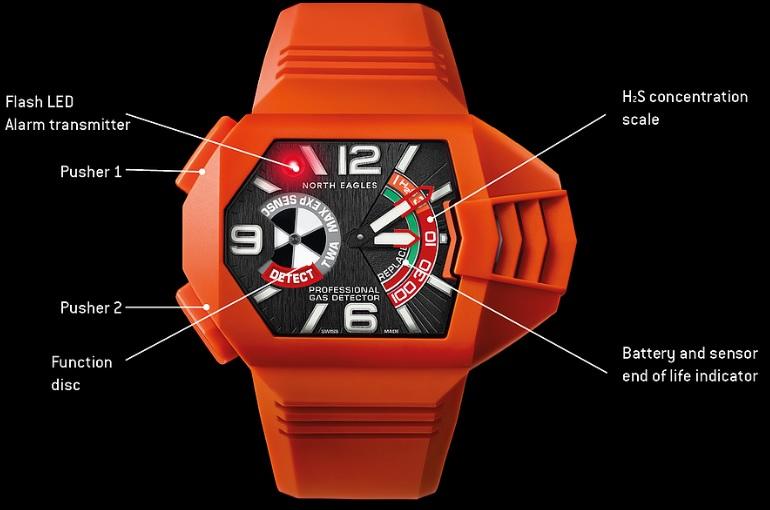 wynalazek zegarka pomarańczowy