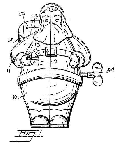 Patent na bank świętego mikołaja