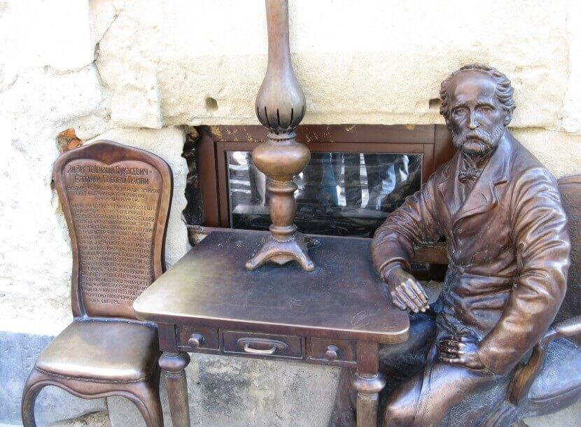 Pomnik wynalazcy Łukasiewicza i Jana Zeha