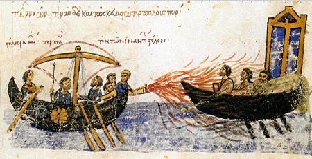 Wynalazek Greckiego Ognia