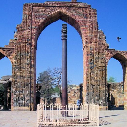 Żelazna kolumna w Delhi