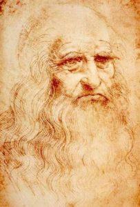 Autoportret wynalazcy, Leonarda Da Vinci