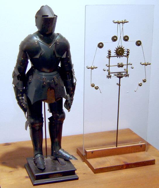 Prototyp mechanizmu robota Leonarda Da Vinci