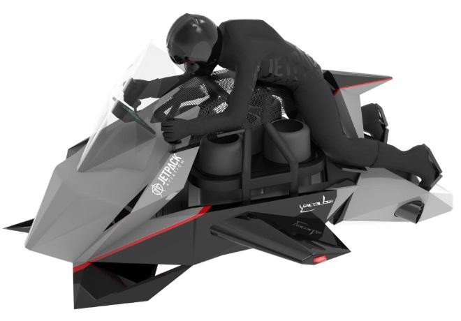 Model 3D latającego wynalazku futurystycznego