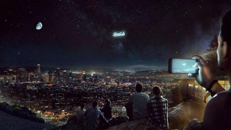 Wynalazek-satelity-billboard-na-niebie