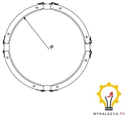 Szalowanie filarów modułowych wynalazek patent
