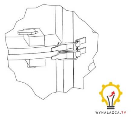 Analogiczny system połączenia łącznik - zamek