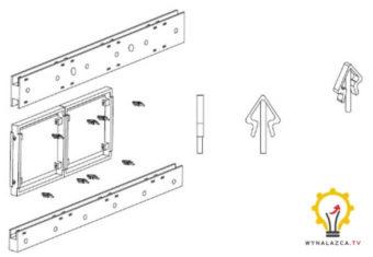 Drugi wariant wynalazku szalunku modułowego, patent