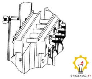 Wynalazek szalunku patent wzmocnienia