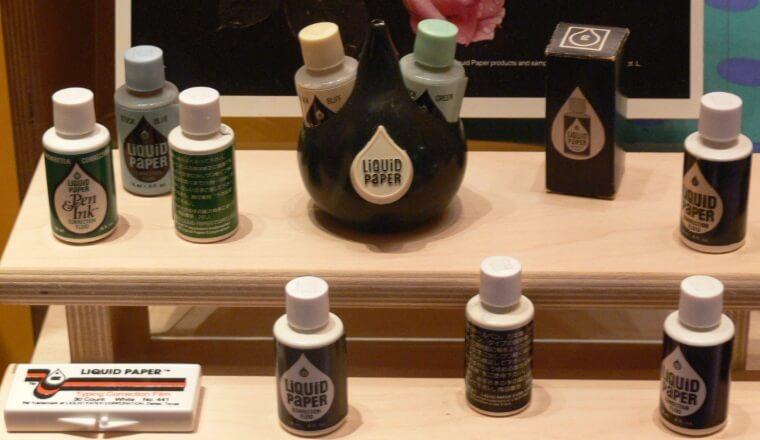 Produkty marki Liquid Paper