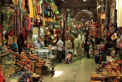 Grand bazar jako miejsce handlu