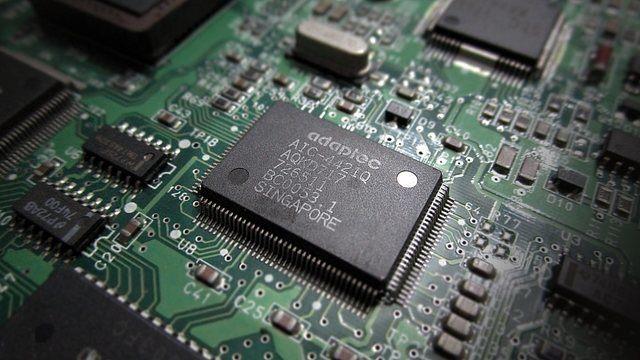 Układ scalony stosowany w komputerach osobistych