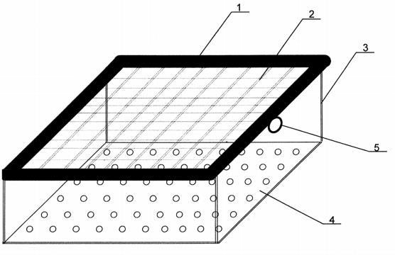 Karmnik dla ryb wyposażony w pływak