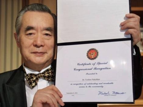 Naukowiec Yoshirō Nakamatsu i certyfikat