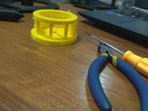 obróbka prostymi narzędziami