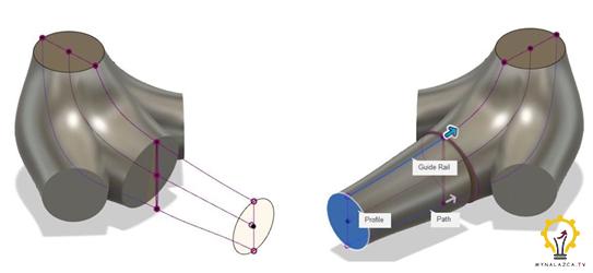 Etap modelowania ortezy dla kury