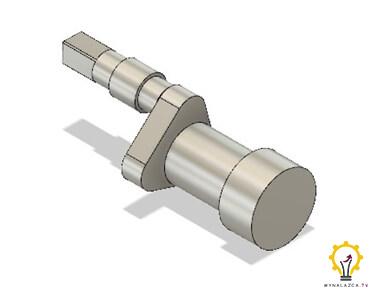 Model wału korbowego prototypu silnika Stirlinga – II korbowód